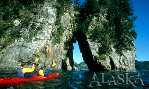 Alaska Adventure Travel Vacation Kayakers Picture
