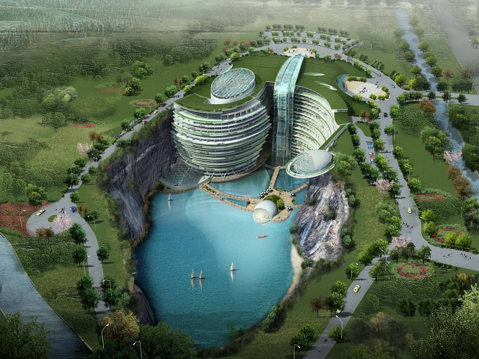 Songjiang hotel deep water quarry hotel photo picture