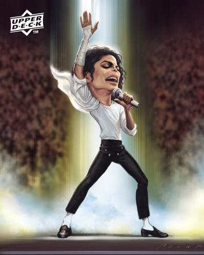 Micheal Jackson caricature picture photo