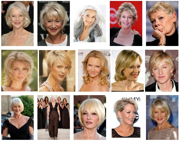 We show hair styles women, hairstyles for over 50… Short hairstyles for over