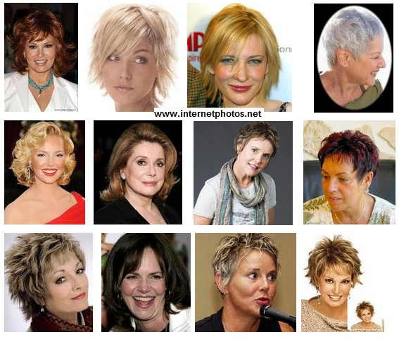Women hairstyles over 50 photo