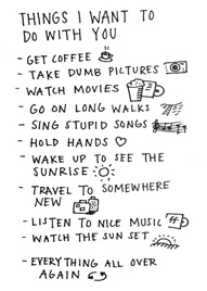 Things want to do with you