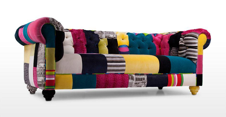 Colorful Long Sofas